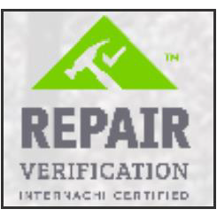 Internachi Certified Repair Verification
